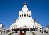 Митрополит Филарет принял участие в траурной церемонии по случаю годовщины теракта в минском метро