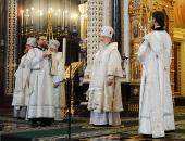 Слово Святейшего Патриарха Кирилла в Великую субботу после Божественной литургии в Храме Христа Спасителя