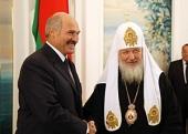 Президент Республики Беларусь А.Г. Лукашенко поздравил Святейшего Патриарха Кирилла с праздником Пасхи