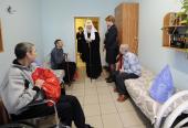 В праздник Пасхи Святейший Патриарх Кирилл посетил Центр социальной адаптации инвалидов «Филимонки»