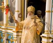 В праздник Светлого Христова Воскресения митрополит Филарет совершил Литургию в Свято-Духовом соборе г. Минска