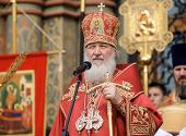 Слово Святейшего Патриарха Кирилла в понедельник Светлой седмицы в Успенском соборе Московского Кремля