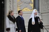 Слово Святейшего Патриарха Кирилла на Якорной площади г. Кронштадта