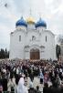 Патриаршее служение в Троице-Сергиевой лавре в праздник иконы Божией Матери «Живоносный Источник»