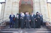 Управляющий делами Московской Патриархии освятил воссозданный Никольский собор в столице Карачаево-Черкесии