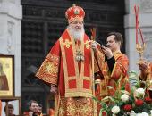 Слово Святейшего Патриарха Кирилла перед началом молебна в защиту веры, поруганных святынь, Церкви и ее доброго имени