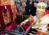 Блаженнейший митрополит Киевский Владимир возглавил торжества по случаю прославления в лике святых схиархиепископа Антония (Абашидзе)