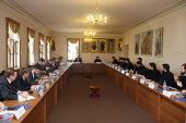 В ОВЦС состоялось заседание Рабочей группы по взаимодействию Русской Православной Церкви и Министерства иностранных дел России