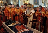 Состоялось отпевание и погребение архиепископа Гомельского и Жлобинского Аристарха