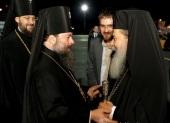 Блаженнейший Патриарх Иерусалимский Феофил прибыл на Украину с частным визитом