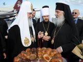 Начался официальный визит Святейшего Патриарха Московского и всея Руси Кирилла в Болгарскую Православную Церковь