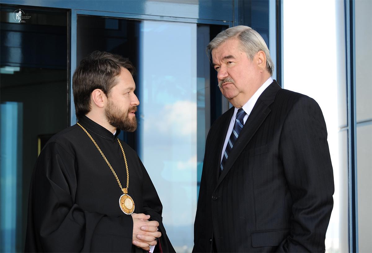 Визит Святейшего Патриарха Кирилла в Болгарскую Православную Церковь. Прибытие в аэропорт г.Софии