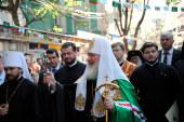 Святейший Патриарх Кирилл посетил кафедральный собор города Пловдива