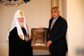 Состоялась встреча Святейшего Патриарха Кирилла с Премьер-министром Болгарии Бойко Борисовым