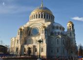 Регулярные богослужения начались в кронштадтском Морском соборе святителя Николая Чудотворца