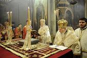 Предстоятели Русской и Болгарской Православных Церквей совершили Литургию в кафедральном Александро-Невском соборе Софии
