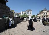 Святейший Патриарх Кирилл возложил венок к памятнику царю-освободителю — Российскому императору Александру II в Софии
