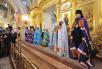 Патриаршее служение в Покровском монастыре в день 60-летия преставления блаженной Матроны Московской. Хиротония архимандрита Нила (Сычева) во епископа Муромского