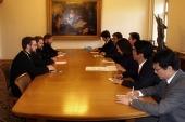 Председатель ОВЦС встретился с делегацией Демократической партии Японии