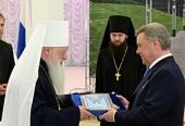 Губернатор Московской области Б.В. Громов награжден орденом «Славы и чести» I степени