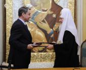 Подписано Соглашение о сотрудничестве между Русской Православной Церковью и Министерством культуры РФ
