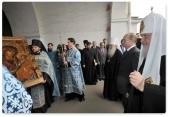 Русской Православной Церкви передан древнейший на Руси список Иверской иконы Божией Матери