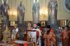 Патриаршее служение в Свято-Георгиевском храме на Поклонной горе в день памяти великомученика Георгия Победоносца. Георгиевский парад