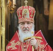 Слово Святейшего Патриарха Кирилла в Свято-Георгиевском храме на Поклонной горе в день памяти святого великомученика Георгия Победоносца
