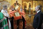 Слово Святейшего Патриарха Кирилла после молебна в день инаугурации Президента Российской Федерации
