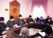 Епископ Бронницкий Игнатий провел встречу с правящими архиереями епархий и ответственными за молодежное служение Красноярской митрополии