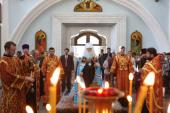Митрополит Минский и Слуцкий Филарет принял участие в памятных мероприятиях, посвященных годовщине Победы в Великой Отечественной войне