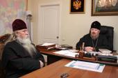 Глава Красноярской митрополии встретился c иерархом Русской Православной Старообрядческой Церкви