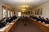 Митрополит Волоколамский Иларион встретился со слушателями курсов повышения квалификации для священнослужителей Москвы
