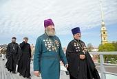 Общероссийские сборы штатного военного духовенства начались в Санкт-Петербурге