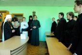 Митрополит Волоколамский Иларион выступил с лекцией в Николо-Угрешской духовной семинарии