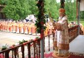 Святейший Патриарх Кирилл совершил Божественную литургию на Бутовском полигоне