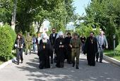 Председатель ОВЦС посетил российскую военную базу в Душанбе