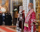 Слово Святейшего Патриарха Кирилла после Божественной литургии в неделю 6-ю по Пасхе в Храме Христа Спасителя