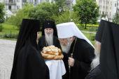 Делегация Русской Зарубежной Церкви посетила Марфо-Мариинскую обитель милосердия