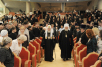 Торжественный акт, посвященный пятилетию восстановления канонического единства Русской Православной Церкви, в Храме Христа Спасителя