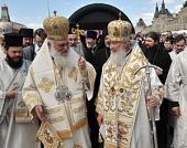 Слово Блаженнейшего Архиепископа Иеронима на официальной церемонии открытия Дня славянской письменности и культуры в Москве