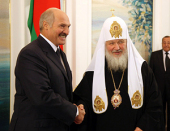 Поздравление Президента Республики Беларусь А.Г. Лукашенко Святейшему Патриарху Кириллу с днем тезоименитства