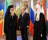 Стенограмма встречи Президента РФ В.В. Путина со Святейшим Патриархом Кириллом и Блаженнейшим Архиепископом Афинским Иеронимом