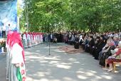 Святейший Патриарх Кирилл посетил традиционный детский праздник в Переделкине