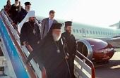 Предстоятель Элладской Православной Церкви прибыл в Санкт-Петербург