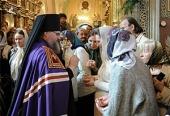 Слово Святейшего Патриарха Кирилла при вручении архиерейского жезла Преосвященному Никите (Ананьеву), епископу Людиновскому, викарию Калужской епархии