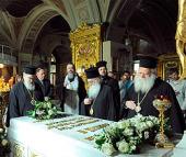 Предстоятель Элладской Православной Церкви посетил монастыри и храмы Москвы