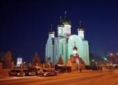 Кафедральный собор в честь Успения Пресвятой Богородицы г. Астаны. Административный и духовно-культурный центр Казахстанского митрополичьего округа