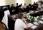 Вопросы религиозного образования учащихся казачьих образовательных учреждений Дона обсудили участники совещания под председательством митрополита Ростовского Меркурия