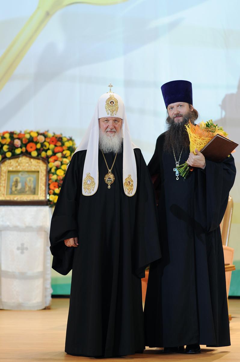 Избрание и награждение лауреатов Патриаршей литературной премии имени святых равноапостольных Кирилла и Мефодия
